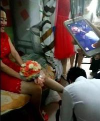 广西一高校大学生宿舍办婚礼 震惊全校