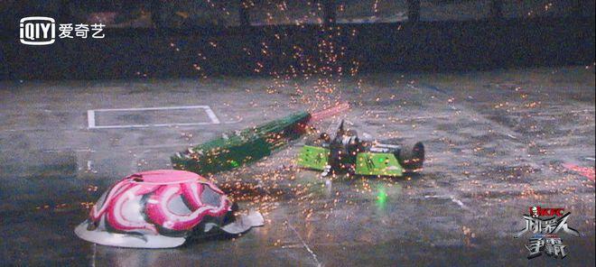 """《机器人争霸》终结baby林更新""""姐妹情"""""""