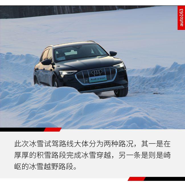 这不仅是一台普通的电动汽车 冰雪试驾奥迪e-tron
