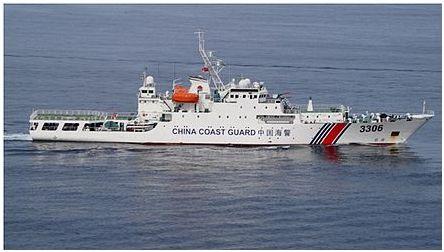 """中国海警船连续巡航钓鱼岛纪录""""因台风""""在111天止步,日网友:人家停止巡航都成新闻了吗!"""