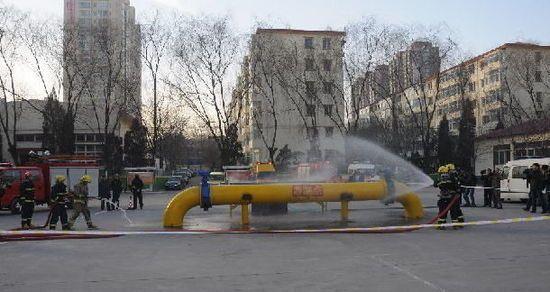 太原市举办燃气应急抢险演习
