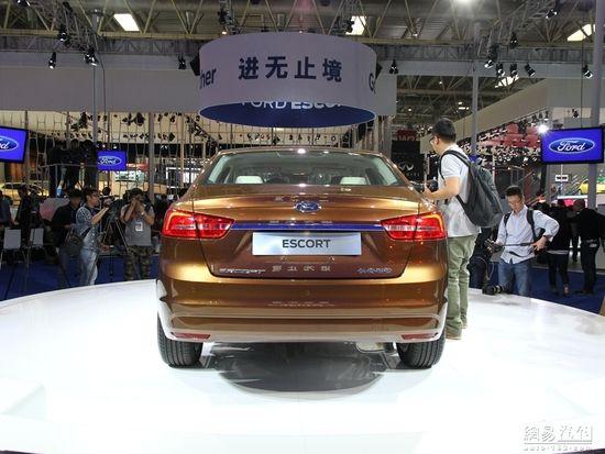 上半年上市 福特福睿斯北京车展首发亮相