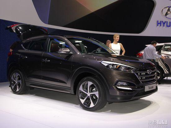 全新外观造型 新一代ix35日内瓦车展发布