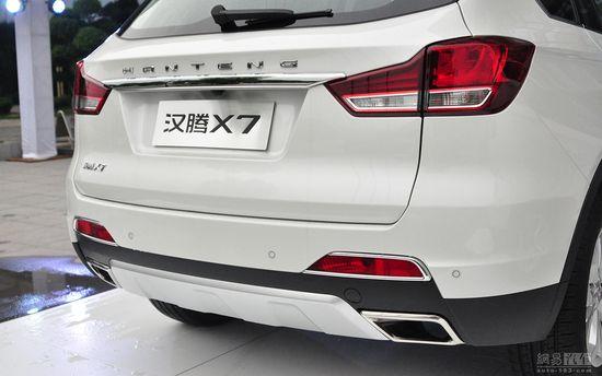 共八款车/售xx.xx万-xx.xx万 汉腾X7上市