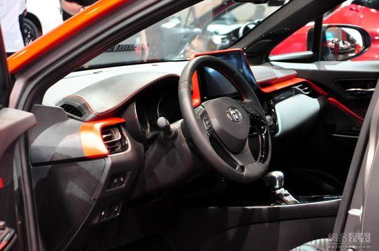 搭载新混合动力 丰田C-HR Hy-Power首发